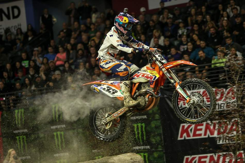 Taylor Robert wins GEICO Endurocross in Everett
